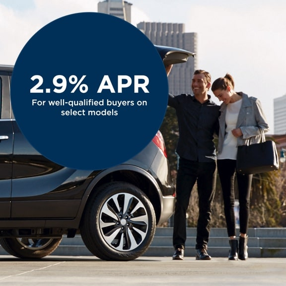 Get 2.9% APR for 36 Months for Well-Qualified Buyers