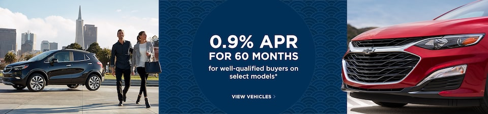 Get 0.9% APR for 60 Months for Well-Qualified Buyers