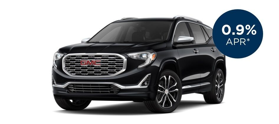Certified Pre-Owned GMC Terrain with 0.9% APR for 60 Months for  Well-Qualified Buyers