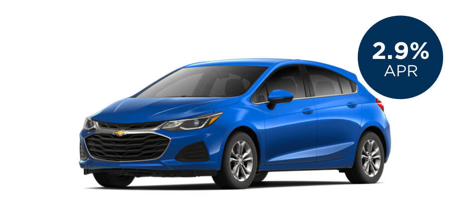 Certified Pre-Owned Chevrolet Cruze with 2.9% APR for 60 Months for  Well-Qualified Buyers