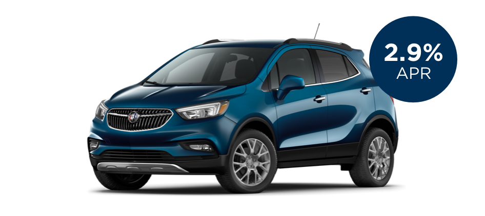 Certified Pre-Owned Buick Encore with 2.9% APR for 60 Months for  Well-Qualified Buyers	Certified Pre-Owned Buick Encore with 2.9% APR for 60 Months for  Well-Qualified Buyers