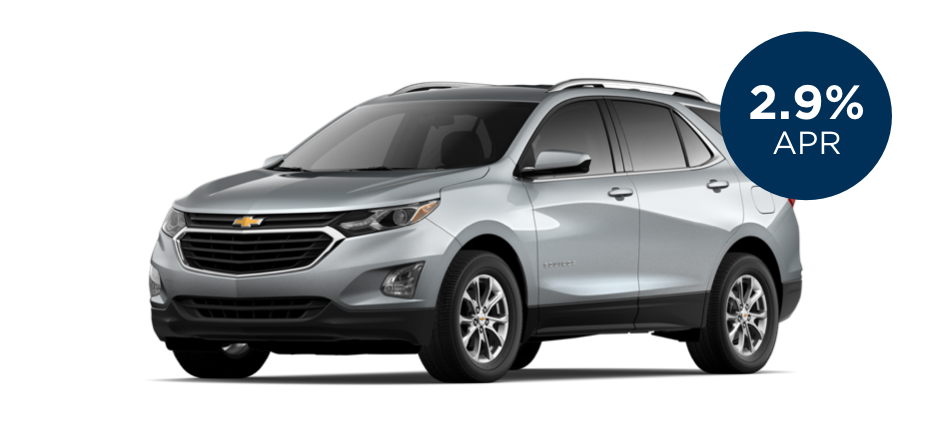 Certified Pre-Owned Chevrolet Equinox with 2.9% APR for 60 Months for  Well-Qualified Buyers