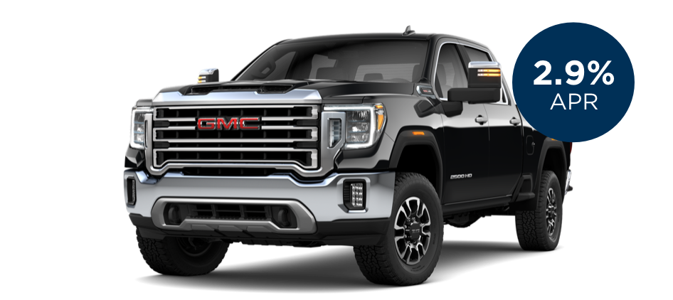 Certified Pre-Owned GMC Sierra HD with 2.9% APR for 60 Months for  Well-Qualified Buyers