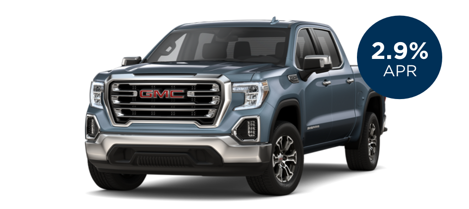 Certified Pre-Owned GMC Sierra with 2.9% APR for 60 Months for  Well-Qualified Buyers