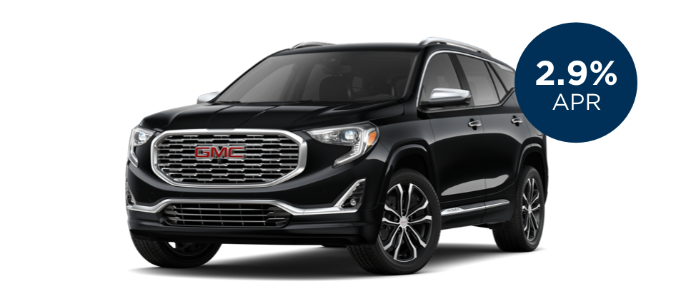 Certified Pre-Owned GMC Terrain with 2.9% APR for 60 Months for  Well-Qualified Buyers
