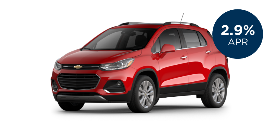 Certified Pre-Owned Chevrolet Trax with 2.9% APR for 60 Months for  Well-Qualified Buyers