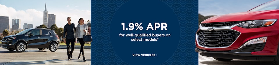Get 1.9% APR for Well-Qualified Buyers