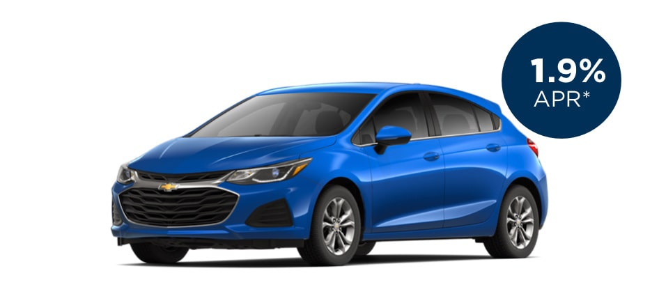 Certified Pre-Owned Chevrolet Cruze with 1.9% APR for Well-Qualified Buyers