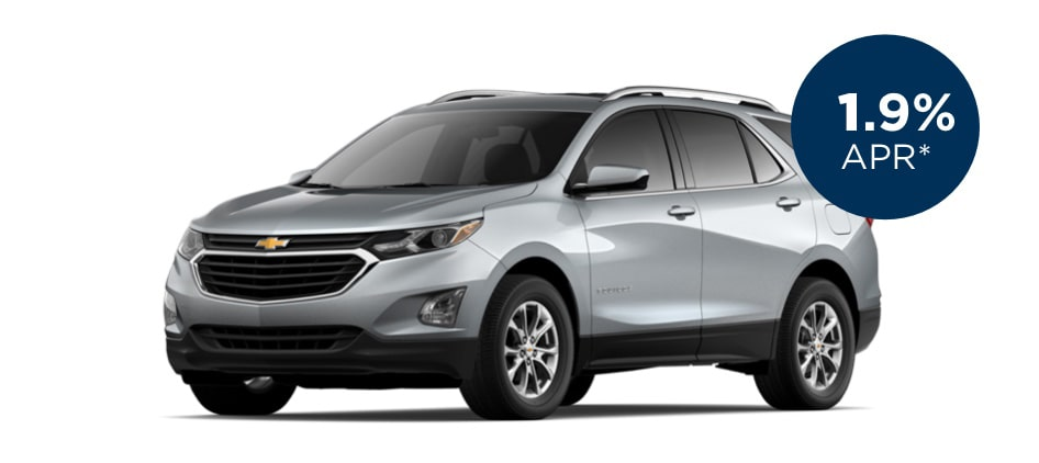 Certified Pre-Owned Chevrolet Equinox with 1.9% APR for Well-Qualified Buyers