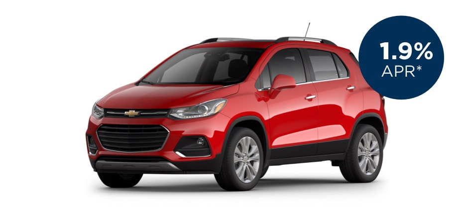 Certified Pre-Owned Chevrolet Trax with 1.9% APR for Well-Qualified Buyers