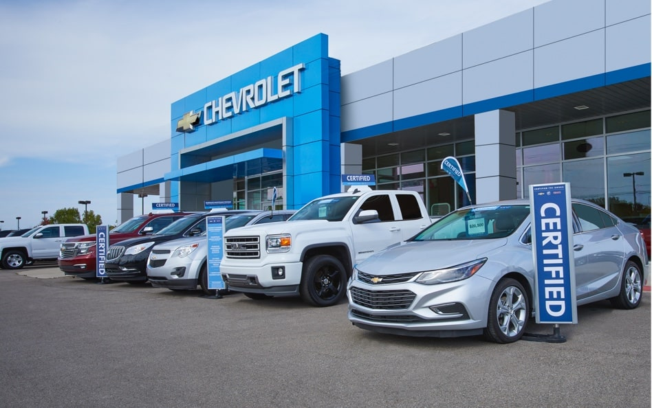 Certified Pre-Owned Dealership Exterior View